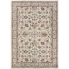 sy couristan area rugs monarch kerman vase antique cream red 8 ft x 11