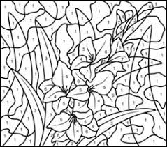 Small Picture Hard Coloring Pages Of Flowers Coloring Pages