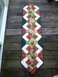 Christmas Table Runner Patterns Custom The Recipe Bunny Christmas Table Runner And Tutorial