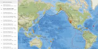 Scroll right to see more. Earthquakes