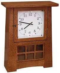 18 arts and crafts pendulum clock