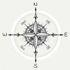 Kompasu Tetování Stock Vektory Royalty Free Kompasu Tetování