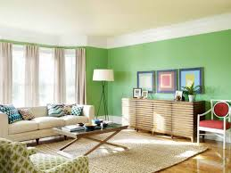 ... Living Room, Living Room Paint Ideas Green Wall And Carpet And Table  With White Lamp ...