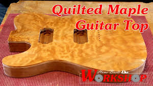 How to make a Quilted Maple Guitar Top - YouTube & How to make a Quilted Maple Guitar Top Adamdwight.com