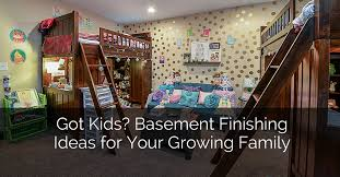 Basement Remodel Designs Gorgeous Got Kids Basement Remodeling Ideas For Your Growing Family Home
