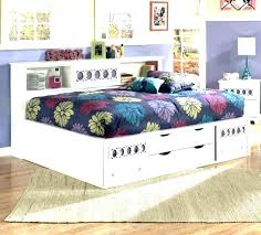 daybed with trundle plans storage drawers and white double outdoor diy bed sto