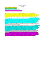 student synthesis essay s adrienne richs claiming an  1 pages sample analysis freire