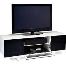low media corner console adjustable glass shelves unit