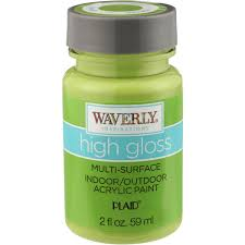 waverly inspirations plaid chocolate high gloss multi surface indoor outdoor acrylic paint 2 fl oz plastic bottle com