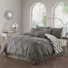 forter set light blue and gray bedding charcoal grey forter