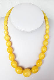 baltic amber necklace royal white er colour 46g