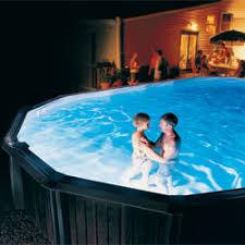 Ground Pool Lights & Pool Fountains