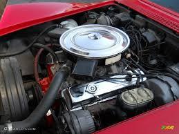 1972 Chevrolet Corvette Convertible 350 cid 255 HP OHV 16-Valve ...