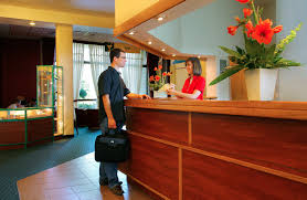 hotel front desk training guest desk decorating ideas