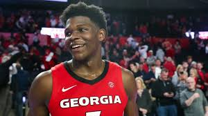 With the ncaa season potential no. Georgia Star Anthony Edwards Declares For Nba Draft