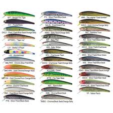 Vintage Bomber Lure Color Chart Bomber Lure Colors Related Keywords Suggestions Bomber