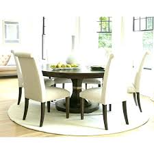 stunning design ideas round dining table rug under chic and creative for kitchen or area rugs sur la room size