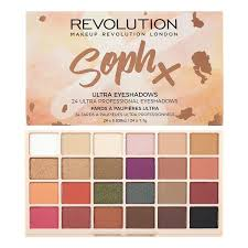 makeup revolution soph x paleta cieni do powiek cena opinie drogeria kosmetykomania pl