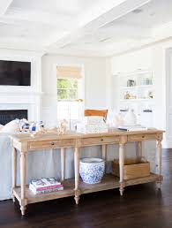 Living Room And Kitchen Pacific Palisades Project Great Room Kitchen Studio Mcgee