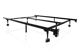 bed frame with wheels. Perfect Wheels 4Way Universal Adjustable Metal Bed Frame With Wheels In With D