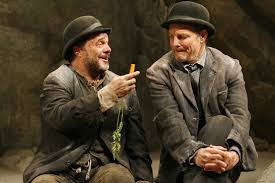 samuel beckett s waiting for godot geoffrey holder broadway  samuel beckett s waiting for godot geoffrey holder 1957 broadway flop playbill immortal classix of the silver stage broadway