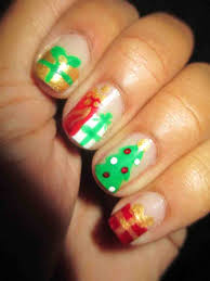 Green White Christmas Nails. red green gold white christmas nail ...