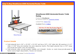 Review Woodhaven 6000 Horizontal Router Table By Sookjak Sookjak Woodhaven Horizontal Router Table