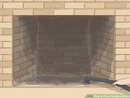 image titled clean fireplace bricks step 1