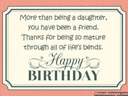 Happy Birthday Quotes For Daughter Cool Birthday Wishes For Daughter Quotes And Messages WishesMessages