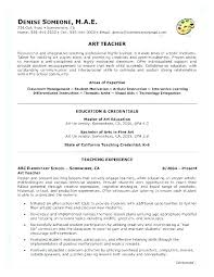 Example Resumes For Teachers Education Resumes Examples Sample Of Education Resume Teacher
