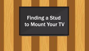 finding a stud to mount your tv tvsguides