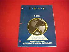 ford f800 pedals pads 1999 ford f 800 f800 truck service repair shop manual wiring diagrams book 99