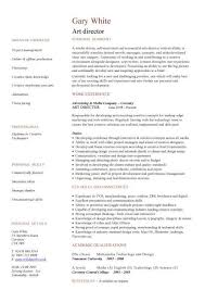 Art Resume Template Classy Director Resume Template Art Resume Template Art Director Cv Sample