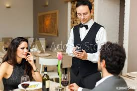 restaurant waiter taking order. Brilliant Restaurant Waiter Taking Orders In A Restaurant For Restaurant Taking Order