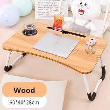 foldable lazy bed desk portable