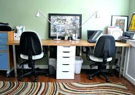 home office ideas for two. Two Person Computer Table Attractive Home Office Ideas For Best About Throughout 2 D