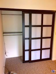 Sliding Closet Doirs Shoji Style Sliding Closet Doors From Scratch 7 Steps