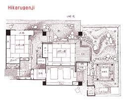 Excellent Traditional Japanese House Plans Free Within House