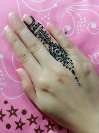 Small Picture Small Mehndi Design For Finger Tutorial Jagua Henna Temporary