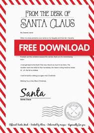 14 Best Christmas Letter From Santa Images Christmas Letter From