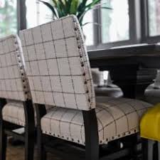 blackandwhite upholstered dining room chairs white upholstered dining chairs9