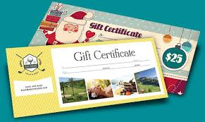 Gift Certificate Designer Create Designer Gift Certificates With Printable Templates
