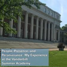 read about florida virtual nehs member olivia horne s experience last summer at the vanderbilt summer academy as motivation to