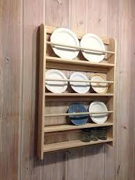 plate display shelf display your decorative plates with this wall mounted rack that has 3 shelves plate display shelf