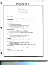 A Sample Of Resume 18 General Examples Labor Nardellidesign Com