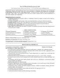 Social Work Resume Template Sample Beautiful Objective Examples For
