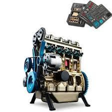 teching four-cylinder stirling engine full <b>aluminum alloy</b> model ...