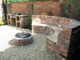 ... Mosaic Fire Pit Table Seat With And B Q Round Grill Uk: Full Size