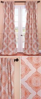 curtains awesome orange geometric curtains super seed geometric fabric wall sticker wondrous orange geometric print