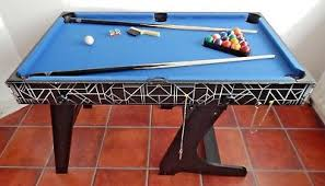 Hypro 4 in 1 Pool Table Tennis Football Games Christmas